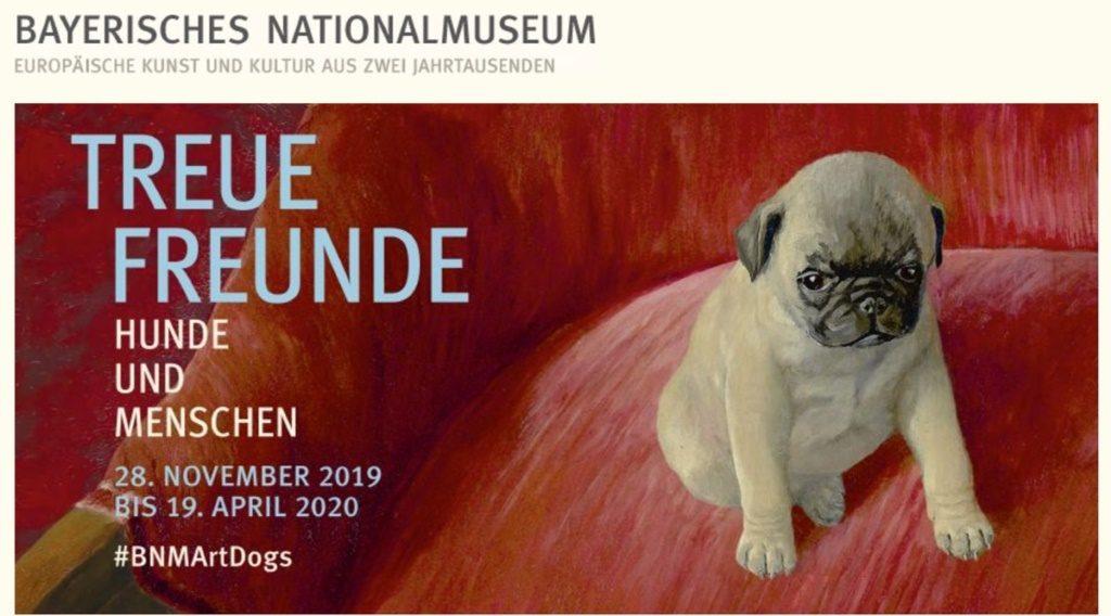 #BNMArtDogs ist eine faszinierende Ausstellung zum Treuen Freund des Menschen - der Hund.