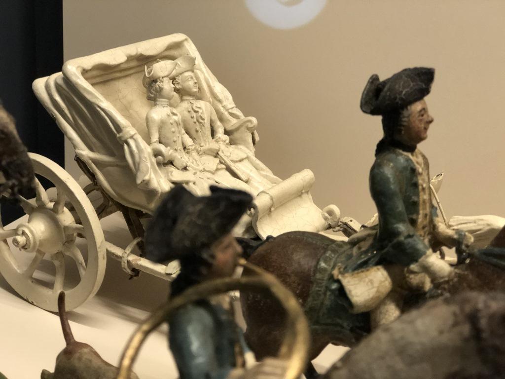 Frauen in Kutsche - Bayerische Kurfürstinnen, Parforcejagd, Bayerisches Nationalmuseum, #BNMARtDogs