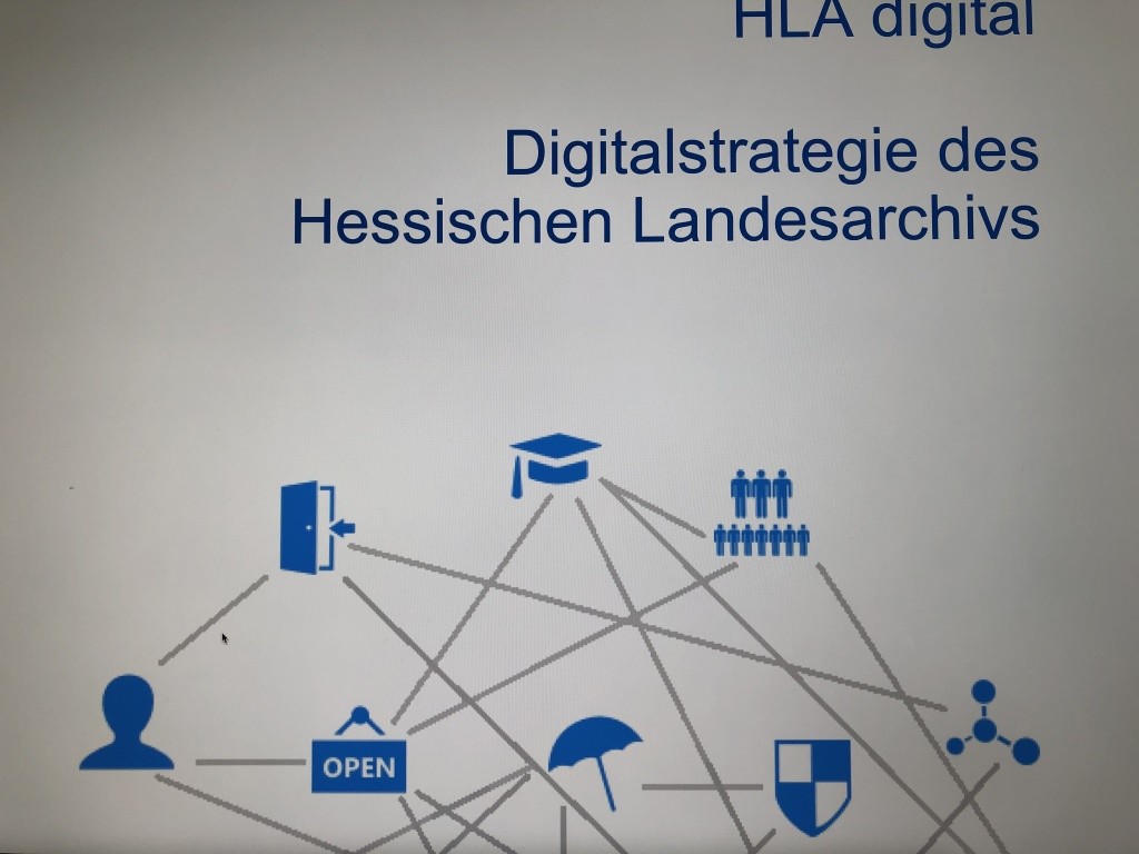 Digitalstrategie des Hessischen Landesarchiv - Lesestoff an 12von12 im März