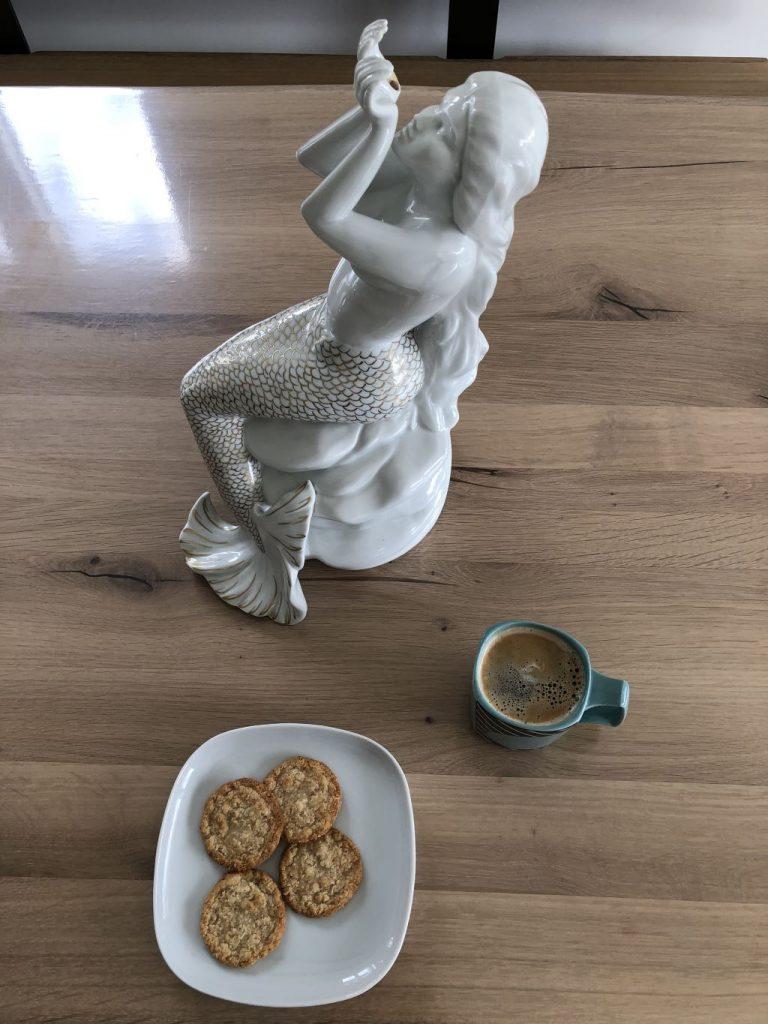 Kaffeepause im Homeoffice zu Erika Mann. #12von12 im März 2020