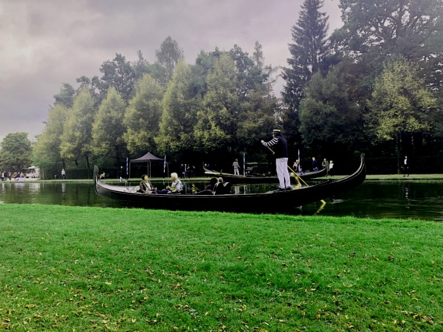 Venezianische Gondeln in Schleißheim passen zu WMDEDGT